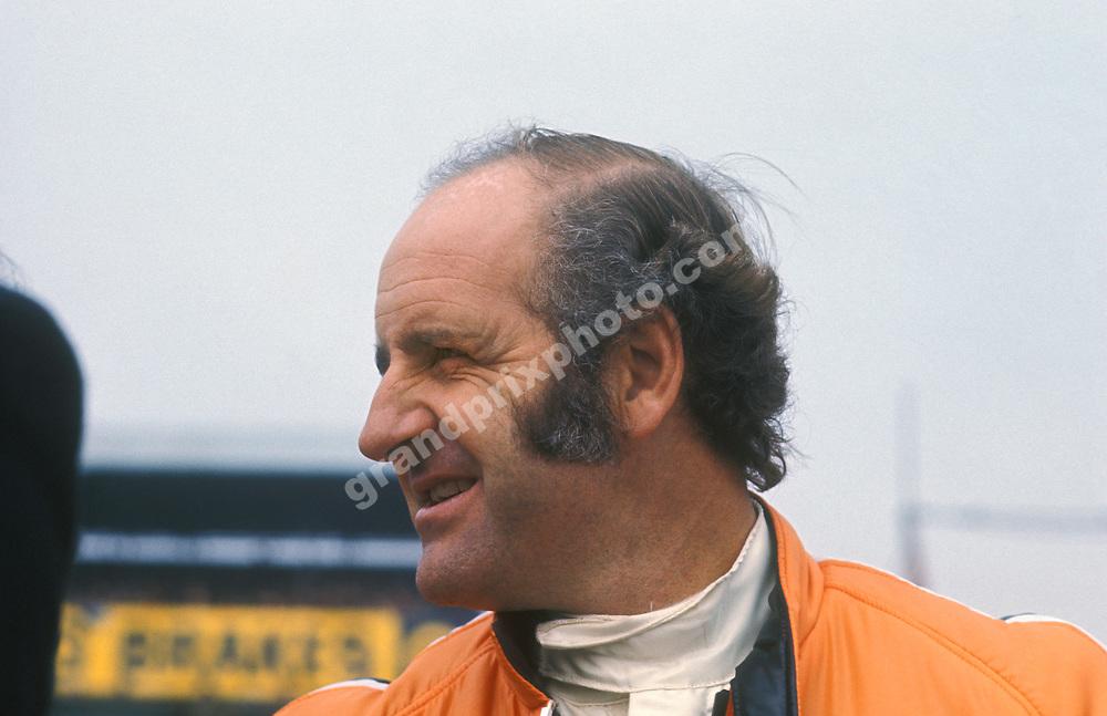 Denny Hulme (McLaren-Mercedes) during the 1972 season. Photo: Grand Prix Photo