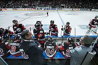KELOWNA, CANADA - NOVEMBER 9: Team WHL on November 9, 2015 during game 1 of the Canada Russia Super Series at Prospera Place in Kelowna, British Columbia, Canada.  (Photo by Marissa Baecker/Western Hockey League)  *** Local Caption ***