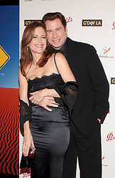 File photo - John Travolta and his wife Kelly Preston arrive at the Penfolds Icon Gala Dinner held at the Hollywood Palladium in Los Angeles on Saturday, January 14, 2006. Kelly Preston, the actress married to John Travolta, has died after a private battle with breast cancer, aged 57. The actress had been battling against breast cancer for two years, with a family representative confirming news of her passing to People today. Photo by Nicolas Khayat/ABACAPRESS.COM