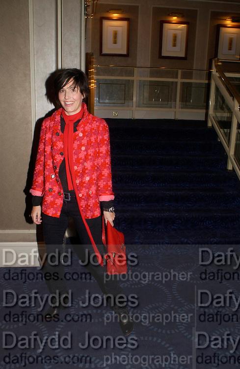 Charleen Spiteri. 50th Ivor Novello Awards, Grosvenor House. London. 26 may 2005. ONE TIME USE ONLY - DO NOT ARCHIVE  © Copyright Photograph by Dafydd Jones 66 Stockwell Park Rd. London SW9 0DA Tel 020 7733 0108 www.dafjones.com