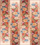 Floral patchwork background