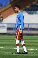 Bradford City midfielder Timothee Dieng (8)   during the EFL Sky Bet League 1 match between Rochdale and Bradford City at Spotland, Rochdale, England on 21 April 2018. Picture by Mark Pollitt.