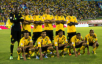 Conmebol - Copa America CHILE 2015 / <br /> Jamaica Team - Preview Set // Team Group from the left up :<br /> Donovan Ricketts-Ryan Johnson-Marvin Elliott-Daniel Gordon-Alvas Powell-Je-Vaughn Watson // Obrian Woodbine-Adrian Mariappa-Garath McCleary-Rodolph Austin-Jermaine Hue