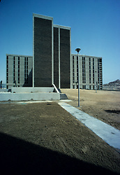 High rise building located in the Eastern province of Saudi Arabia.