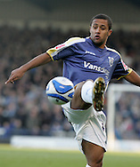 Coca Cola championship,Cardiff city v Plymouth Argyle at Ninian Park in Cardiff on Sunday 28th December 2008. pic by Andrew Orchard, Andrew Orchard sports photography. Wayne Routledge of Cardiff City.