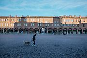 Carpi, Piazza dei Martiri , among the biggest square in Italy