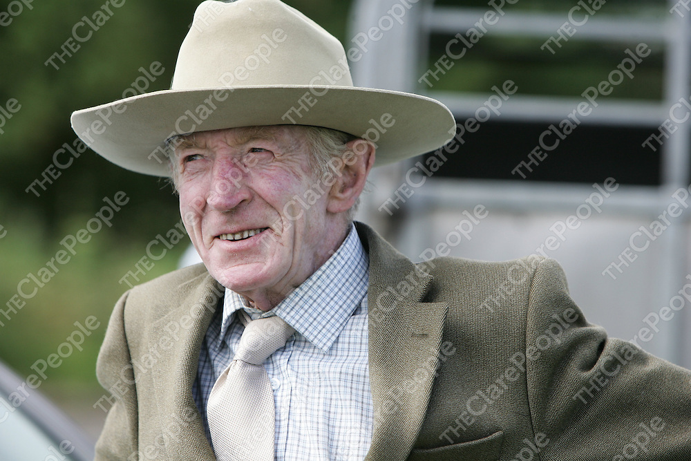 PIctured at the Mullagh show in County clare on Sunday 21st August 2011 was Cllr PJ Kelly.<br /> Emma Jervis Press 22