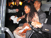 Will Smith & Jada Pinkett Smith in the golf car.**EXCLUSIVE**.A Night to Remember the Champ .TASCHEN and Art Basel host the unveiling of the Book GOAT - Greatest Of All Time, a tribute to Muhammad Ali. .Miami Beach Convention Center - Muhammad Ali Hall.Miami Beach, FL, USA.Saturday, December, 06, 2003 .Photo By Celebrityvibe.com/Photovibe.com...