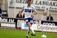 Fotball, 2 divisjon, Haugesund Stadion, 10/07-2005, FK Haugesund - Flekkerøy (2-1), <br /> Ronny Warholm FKH, <br /> Foto: Sigbjørn Andreas Hofsmo, Digitalsport