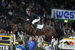 Ehning Marcus, (GER), Singular LS La Silla<br /> Grand Prix of Stuttgart <br /> Longines FEI World Cup<br /> Stuttgart - German Masters 2015<br /> © Hippo Foto - Stefan Lafrentz