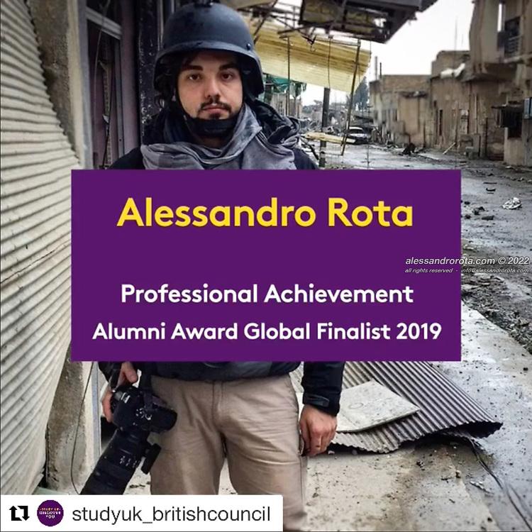 Professional Achievement Alumni Award Global Finalist 2019 by British Council