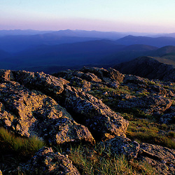 Mt. Monroe. Appalachian Trail. Sunset in the Southern Presidentials.  White Mountain N.F., NH