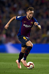 October 20, 2018 - Barcelona, Catalonia, Spain - Ivan Rakitic  in action during the week 9 of La Liga match between FC Barcelona and Sevilla FC at Camp Nou Stadium in Barcelona, Spain on October 20, 2018. (Credit Image: © Jose Breton/NurPhoto via ZUMA Press)