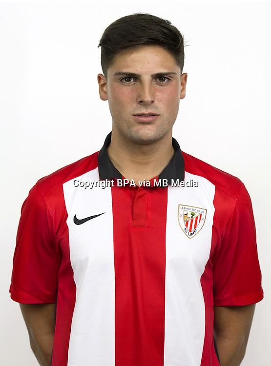 Spain - La Liga Adelante 2015-2016 / <br /> ( Club Bilbao Athletic ) - <br /> Markel Etxeberria Mendiola