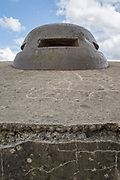 Observation post from World War One at Fort Douaumont near Verdun, France
