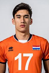 08-12-2017 NED: Reportage pre jeugd Oranje jongens, Arnhem<br /> Delano Merfol #17 of SSS