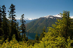 Ross Lake from the Trail to Desolation Peak, North Cascades National Park, Washington, US