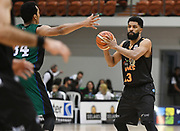 Taylor Hawks Dion Prewster looks to pass in the Sal's Pizza NBL Round 8 match, Hawkes Bay Hawks vs Auckland Rangers, Pettigrew Green Arena, Napier, Saturday, June 16, 2018. Copyright photo: Kerry Marshall / www.photosport.nz