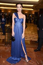 Amy Jackson at The Asian Awards, The Hilton Park Lane, London England. 5 May 2017.<br /> Photo by Dominic O'Neill/SilverHub 0203 174 1069 sales@silverhubmedia.com
