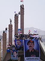 Pro Saleh demos, in Sana'a Yemen