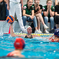 21-04-2018: Waterpolo: Polar Bears v ZVL: Ede<br /> <br /> L - R