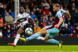 Timothy Fosu-Mensah of Fulham crosses the ball - Mandatory by-line: Robbie Stephenson/JMP - 26/08/2018 - FOOTBALL - Craven Cottage - Fulham, England - Fulham v Burnley - Premier League