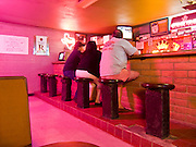 14 APRIL 2006 - GILA BEND, AZ: People drink in a bar in Gila Bend, AZ. PHOTO BY JACK KURTZ