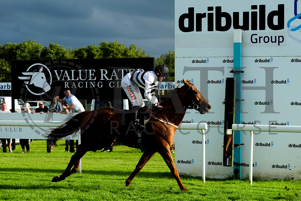 Woggle ridden by Trevor Whelan and trained by Geoffrey Deacon in the Kingstone Press Apple Maiden Handicap (Class 6) race.  - Ryan Hiscott/JMP - 17/08/2019 - PR - Bath Racecourse - Bath, England - Race Meeting at Bath Racecourse