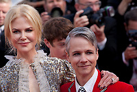 Actress Nicole Kidman and director Cameron Mitchell at the How To Talk To Girls At Parties gala screening at the 70th Cannes Film Festival Sunday 21st May 2017, Cannes, France. Photo credit: Doreen Kennedy