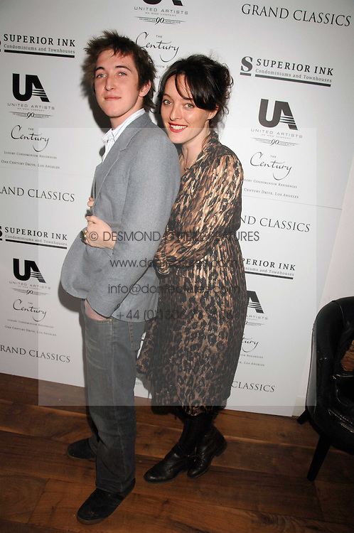 ALICE TEMPERLEY and her brother HENRY TEMPERLEY at the Grand Classic screening of The Apartment held at The Electric Cinema, 191 Portobello Road, London on 16th March 2008.<br /><br />NON EXCLUSIVE - WORLD RIGHTS
