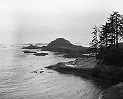 Y-490928-03.  Pacific coast at DeLake, Oregon. September 28, 1949.