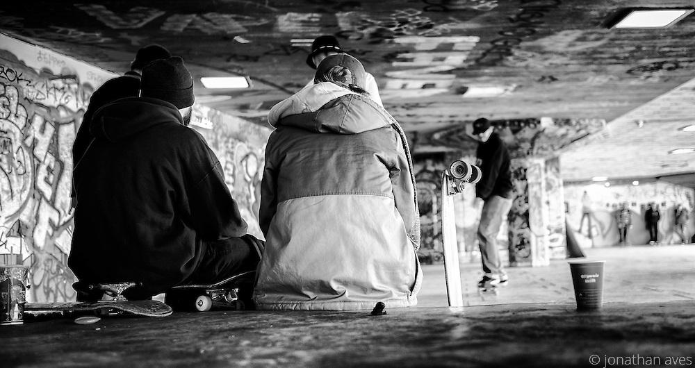 Southbank Skateboard Park, London