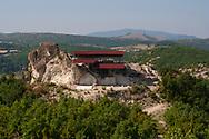 Ancient thracian sanctuary - Stone Head near to village of Tatul