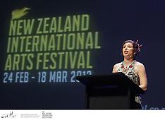 NZ Int'l Arts Festival 12 - Programme Launch
