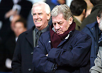 Photo: Chris Ratcliffe.<br />Ipswich Town v Portsmouth. The FA Cup. 07/01/2006.<br />Milan Mandaric looks downbeat despite new money for Portsmouth.