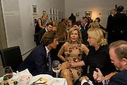 KARL-HEINZ GRASSER; BEGUM AGA KHAN; ELIETTE VON KARAJAN, Dinner at the Museum der Moderne. Salzburg. Amadeus Weekend. Salzburg. 23 August 2008.  *** Local Caption *** -DO NOT ARCHIVE -Copyright Photograph by Dafydd Jones. 248 Clapham Rd. London SW9 0PZ. Tel 0207 820 0771. www.dafjones.com<br /> KARL-HEINZ GRASSER; BEGUM AGA KHAN; ELIETTE VON KARAJAN, Dinner at the Museum der Moderne. Salzburg. Amadeus Weekend. Salzburg. 23 August 2008.