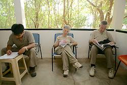 Quint, Gail & Sandy Working