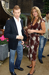 Top chef TOM AIKENS and MISS CELIA WALDEN at Michele Watches Kaleidoscope Summer Garden Party held at Home House, Portman Square, London on 15th June 2005.<br /><br />NON EXCLUSIVE - WORLD RIGHTS