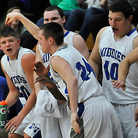 1.24.2014 Elyria Catholic at Midview Boys Varsity Basketball