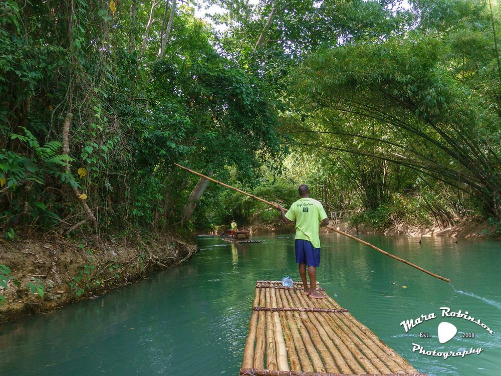 Martha Brae River raft ride