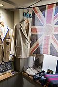 Interior of a vintage clothes shop, Vintage Showroom on 2nd November 2015 in London, United Kingdom.