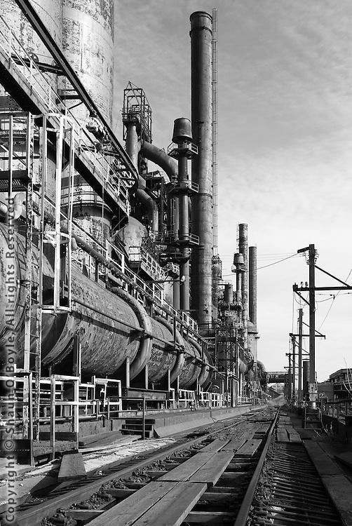Bethlehem Steel mill Dec 27, 2006