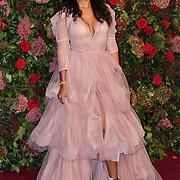 Maya Jama attends Evening Standard Theatre Awards at Theatre Royal, on 18 November 2018, London, UK.
