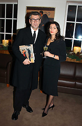 Artist JACK VETTRIANO and TRACEY CLINTON at a party to celebrate a book of work by artist Jack Vettriano held at The Bluebird Club & Dining Room, 350 Kings Road, London on 7th December 2004.<br /><br />NON EXCLUSIVE - WORLD RIGHTS