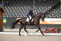 Overgoor Yvette, NED, Flynn<br /> Nederlands Kampioenschap Dressuur <br /> Ermelo 2018<br /> © Hippo Foto - Dirk Caremans