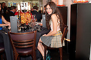 ELIZA DOOLITTLE;, The Tomodachi ( Friends) Charity Dinner hosted by Chef Nobu Matsuhisa in aid of the Japanese Tsunami Appeal. Nobu Park Lane. London. 4 May 2011. <br /> <br />  , -DO NOT ARCHIVE-© Copyright Photograph by Dafydd Jones. 248 Clapham Rd. London SW9 0PZ. Tel 0207 820 0771. www.dafjones.com.