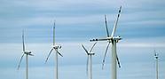 Farma wiatrowa koło Pucka na Pomorzu