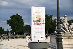 June 1, 2017 - Paris, France - Salon - Jusqu'au 4 juin, la manifestation Ç Jardins, Jardin È est organisee dans le parc des Tuileries a Paris (Credit Image: © Panoramic via ZUMA Press)