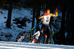 Philipp Horn (GER) during the Men 20 km Individual Competition at day 1 of IBU Biathlon World Cup 2019/20 Pokljuka, on January 23, 2020 in Rudno polje, Pokljuka, Pokljuka, Slovenia. Photo by Peter Podobnik / Sportida