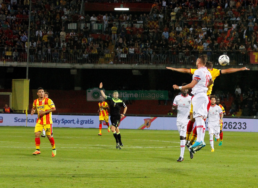 May 27, 2017 - Benevento, Italy - This evening at the Vigorito di Benevento stadium, played the first semi-finals for the A-series qualifiers between Benevento and Perugia. Benevento wins by 1-0. (Credit Image: © Fabio Sasso/Pacific Press via ZUMA Wire)